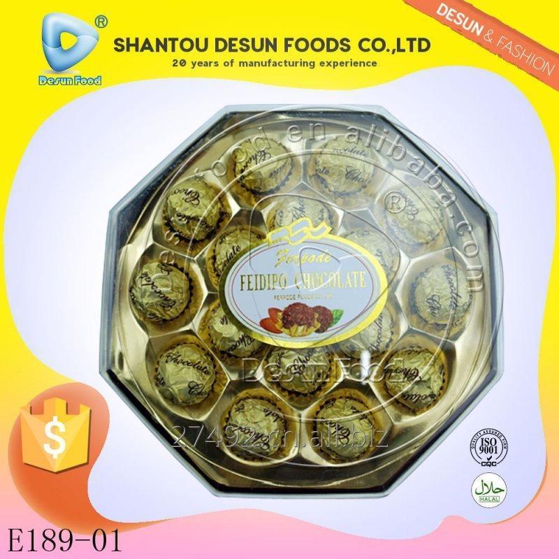 16pcs_octagon_shaped_chocolate_with_peanut