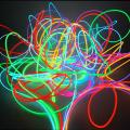 EL wire electroluminescent  holodny neon (cold neon)