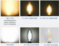 Dimmable led lamp 2W 4W 6W  E14 6500K  China factory wholesale