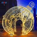LED design composition Christmas tree toy white