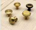 Single hole round handle black american cabinet door handle extendable handle modern minimalist furniture cabinet China