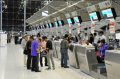 P6 LED displays internal for the airports an aluminum office