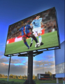 LED displays for football stadiums