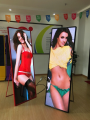 Mirror P3 Indoor Full Color LED screen high resolution 5 Years Warranty