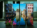 Indoor P2.5 mirror screen, high brightness display, LED billboards