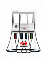 100LPM heavy duty fuel dispenser