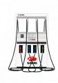 100LPM heavy duty fuel dispenser