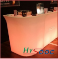 LED conner bar table