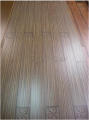 1213*142*12.3mm Laminate Flooring of Paint V-groove and Flower