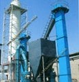 Construction gypsum powder production line