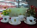 新骨瓷咖啡杯碟QJ5019