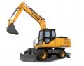 13.5tons wheel excavator with bucket capacity0.6m3,115hp