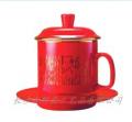 中国红瓷将军杯