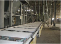 Mineral wool production line