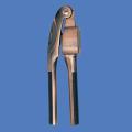 古铜压蒜器