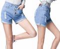 女式牛仔裤短裤