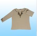 1X1罗纹女式长袖衫(LF-1)
