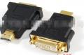 供应DVI24+5母对HDMI公转接头