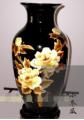 民间工艺 麦秆画花瓶