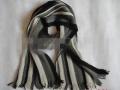 海纳HNW2012029经编条纹女款冬季围巾