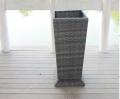 Rattan furniture--outdoor flower pot