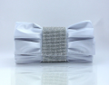 FX2784 Fashion Wholesale silk rhinestone evening clutch bags