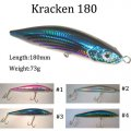 Perfect Sport Fishing Lure Artificial Fishing Lure Stick Lure Kr180-18cm-Hot Sale! !