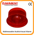 640-004 analogue Audio/Visual Alarm loop powered sound detector alarm