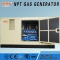 Silent gas powered generator set