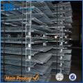 W-10 Warehouse wire mesh metal foldable cage pallets