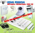 Wireless GSM 3G security Fire alarms systems for building monitoring K8