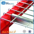Inverted U channel Steel galvanized wire mesh us standard flared deck for racks