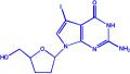 7-碘-2',3'-双脱氧-7-脱氮-D-鸟苷