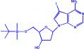 7-脱氮-5'-O-(叔丁基二甲基硅烷基)-2'-脱氧-7-碘-D-腺苷