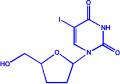 5-碘-2',3'-双脱氧-D-尿苷