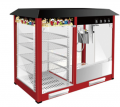 Commercial Hot Air Popcorn Machine/ Popcorn Maker & Warming Showcase for sale