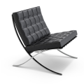 High quality replica Barcelona chair in cowhide
