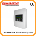 Analogue Intelligent fire alarm control panel 1 loop connect up to 125 devices