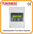 Networkable 2-wire 1-loop Addressable Fire Alarm Control Panel 6000-01