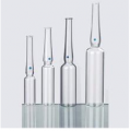 YBB and GMP and ISO standard USP type1 OPC with blue point type B 20ml clear glass ampoule