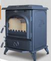 Wood burning cast iron stove HF717