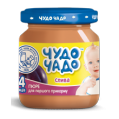 Puree from plums with sugar sterilized Chudo-Chado baby food 0,09 kg glass