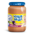 Puree from peaches with sugar sterilized Chudo-Chado baby food 0,16 kg glass