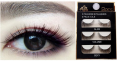 False eyelashes, 3 pairs