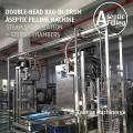 Double-head 220L Bag in Drum Fruit Puree Paste Aseptic Filling Machine