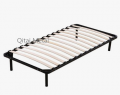 Twin size Wooden Slatted Metal Bed Base