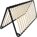 Queen Size Folding Slatted Bed Base