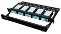 Włókna światłowodowe okablowanie Rack 24-core MTP/MPO-LC moduł pudełko pełne 120 rdzeni