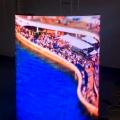CE ROHS автомобилей Авто шоу цилиндра Крытый гибкий светодиодный дисплей