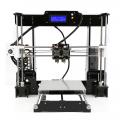 Anet A8M 3D Printer Kit Dual Print nozzle Easy Assemble Large Build Size DIY Desktop Multi-color FilamentPrint size 220*220*240